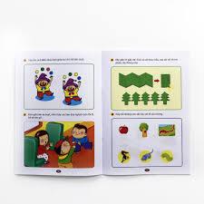 Sách - Bộ sách rèn luyện trí thông minh trò chơi tư duy 5 - 6 tuổi ...