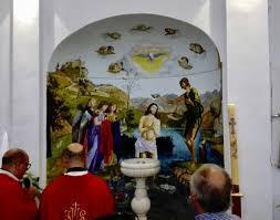 Ravello Notizie - Ravello, un nuovo fonte battesimale per il Santuario dei Santi  Cosma e Damiano [FOTO]