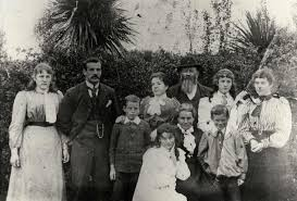 Family of Charles and Matilda Collins - Kete Horowhenua