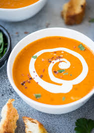 CREAMY TOMATO BISQUE - The flavours of ...