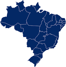 Resultado de imagem para mapa brasil