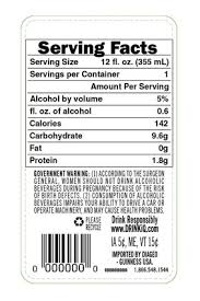 diageo vows to offer nutrition info on