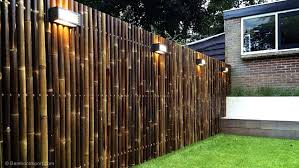 Attractive Bamboo Fence Panels House Fence Design Bamboo Garden Fences Fence Design