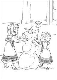 Kids N Fun 35 Kleurplaten Van Frozen