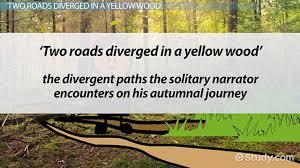 road not taken symbolism ysis