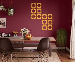 wall stencil design patterns asian paints