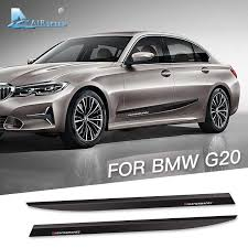 Airspeed M Performance Stickers Decals For Bmw G20 5d Carbon Fiber Vinyl Car Door Side Sticker Decal For Bmw G20 Accessories Car Stickers Aliexpress