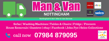 Man With A Van Nottingham Posts Facebook