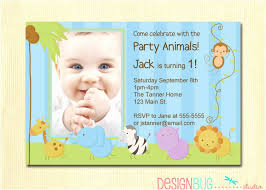 first birthday invitation wording 1st