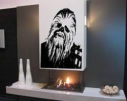 Amazon Com Chewbacca Star Wars Nursery Room Kids Bedroom Wall Sticker Decal Wall Art Decor G7266 2 Home Kitchen