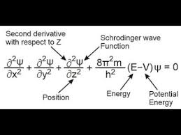 schrodinger wave equation atomic
