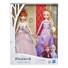 anna and elsa fashion doll set