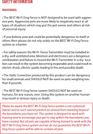 Best Wireless Dog Fence System User Manual Best Suppliers