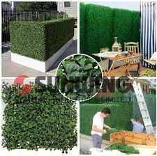 China Ivy Plastic Garden Boxwood Panel Leaf Fence Artificial Hedge China Artificial Hedge And Artificial Hedge Fence Price