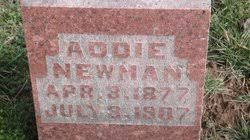 Addie Newman (1877-1907) - Find A Grave Memorial