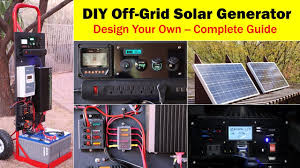 high capacity off grid solar generator