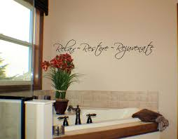 Relax Restore Rejuvenate Wall Decals Trading Phrases