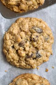 oatmeal cookies soft and chewy