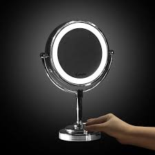 double sided magnifing makeup mirror