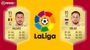 FIFA 20 Ratings: svelata la lista dei 20 calciatori più forti della Liga  spagnola