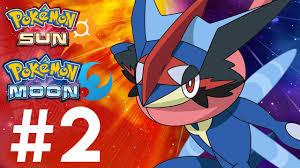 Pokemon Sun and Moon Gameplay Walkthrough Part 2 - RIDING POKEMON ...