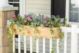 Build Your Own Railing Planter For Custom Curb Appeal Better Homes Gardens
