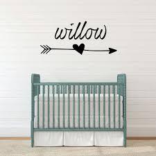 Personalized Nursery Wall Decal Vinyl Decor Wall Decal Customvinyldecor Com