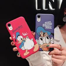 Ốp điện thoại nhựa mờ in hoạt hình vịt Donald xinh xắn chống trầy ...