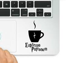 Harry Potter Espresso Patronum Macbook Trackpad Laptop Vinyl Decal Sticker Buy Online In Gibraltar Wicked Decals Products In Gibraltar See Prices Reviews And Free Delivery Over Gip50 Desertcart