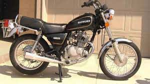 small cafe racers suzuki gn 125 by