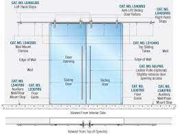 crl laa series sliding door systems