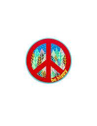Hippy Peace Sign Be Hippy
