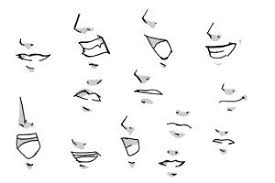how to draw manga mouths drawingnow