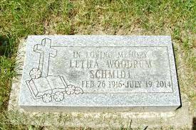 Letha Mae Johnson Schmidt (1916-2014) - Find A Grave Memorial