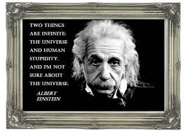 albert einstein the universe text quotes art mural printed wall mural