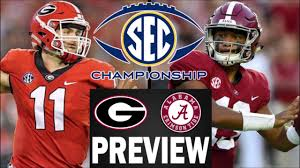 Alabama vs Georgia SEC Championship ...