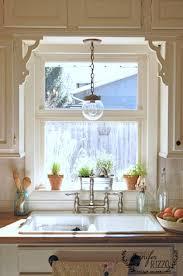 kitchen windowsill decorating ideas