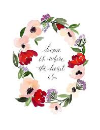watercolor flower garland google search floral wreath