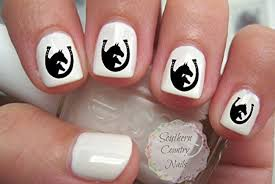 horse themed nail decals for the