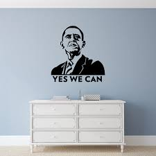 Barack Obama Wall Decal Sticker