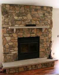 this fireplace renovation looks