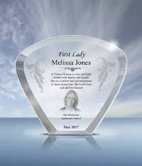 pastor wife gift crystal moon plaque