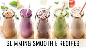 healthy smoothie recipes 5 smoothies