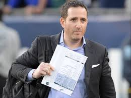 Howie Roseman's home office was set up for virtual draft two-years ago