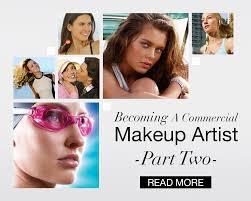 being a mercial makeup artist