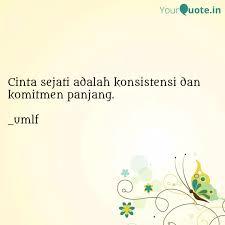 cinta sejati adalah konsi quotes writings by umi muthi