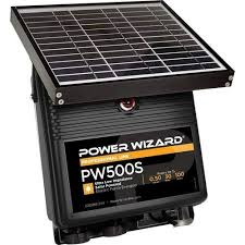 Power Wizard Pw500s 12v Solar Electric Fence Charger 0 5 Joule Output Amazon Com Industrial Scientific
