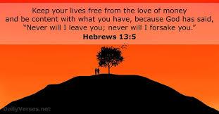 bible verses about money net