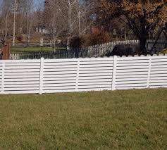 Semi Private American Fence Company Norfolk Ne