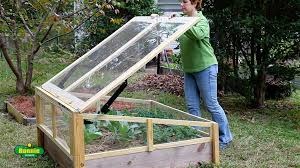 raised bed cold frame open raised